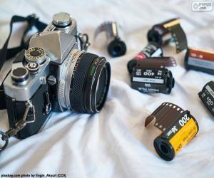 Układanka Aparat fotograficzny reflex