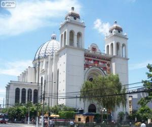 Układanka Archikatedrze Świętego Zbawiciela, San Salvador, El Salvador