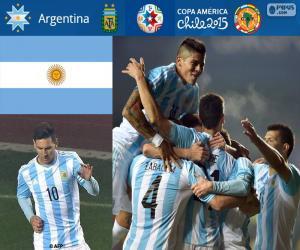 Układanka ARG finalista, Copa America 2015