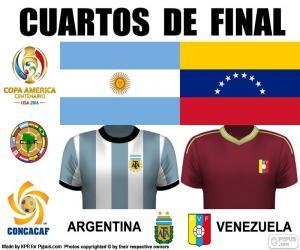 Układanka ARG - VEN, Copa America 2016