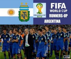 Układanka Argentyna 2 sklasyfikowane z Brazylia 2014 roku Puchar Świata