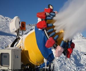 Układanka Armatki śnieżne