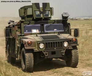 Układanka Armia Humvee