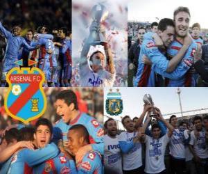 Układanka Arsenalu, Clausura mistrz 2012, Argentyna