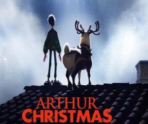 Układanka Artur Świąt Bożego Narodzenia