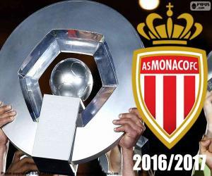 Układanka AS Monaco mistrz 2016-2017