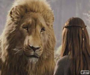 Układanka Aslan mówi Lucy