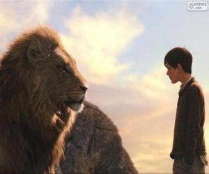 Układanka Aslan rozmawiać Edmund