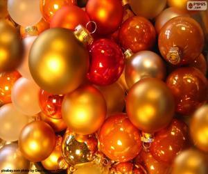 Układanka Asortyment Boże Narodzenie bale
