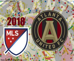 Układanka Atlanta United MSL Cup 2018