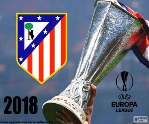 Układanka Atletico Madryt, Europa League 2018