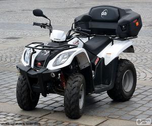 Układanka ATV lub quad