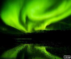 Układanka Aurora Borealis