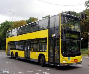 Układanka Autobusów MAN Lion's City