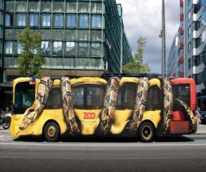 Układanka Autobus miejski, Kopenhaga