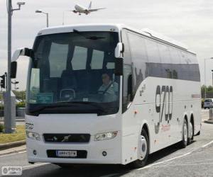 Układanka Autobus Volvo 9700 TX