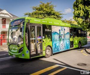 Układanka Autobusowy z Auckland, Nowa Zelandia