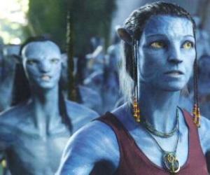 Układanka Avatar na'vi Dr Grace Augustine