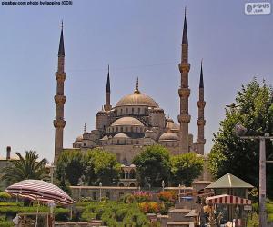Układanka Błękitny Meczet, Turcja