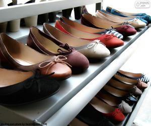 Układanka Baleriny, buty