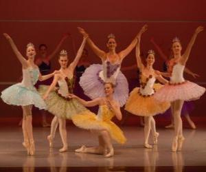 Układanka Balet