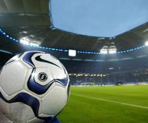 Układanka Ball w stadion piłkarski