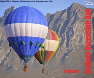 Układanka Balloon Wniebowstąpienie Dzień