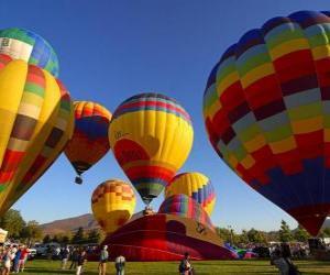 Układanka Balon