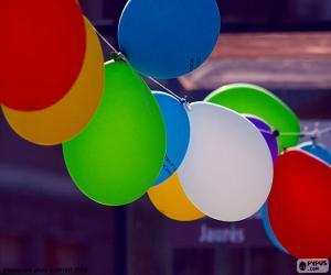Układanka Balony na uroczystości