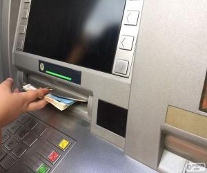Układanka Bankomat