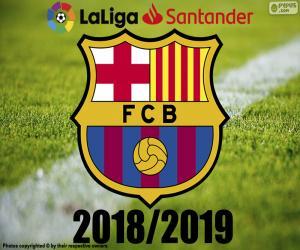 Układanka Barça, mistrz 2018 2019 r.