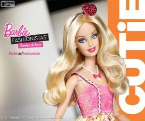 Układanka Barbie Fashionista Cutie