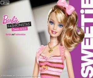 Układanka Barbie Fashionista Sweetie