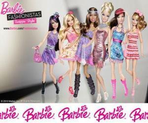 Układanka Barbie FASHIONISTAS