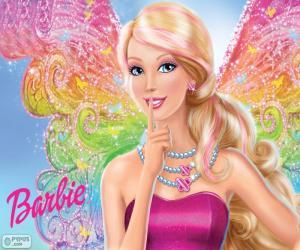 Układanka Barbie sekret wróżek