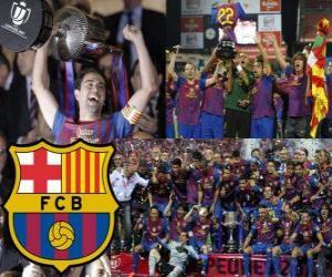 Układanka Barcelona we włoskim mistrz Copa del Rey 2011-2012