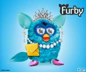 Układanka Bardzo elegancki Furby