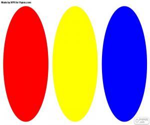 Układanka Barwy podstawowe
