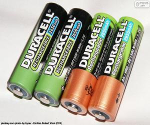 Układanka Baterie AA