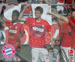 Układanka Bayern Múnich, mistrz 2015-2016