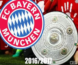 Układanka Bayern Múnich, mistrz 2016-2017