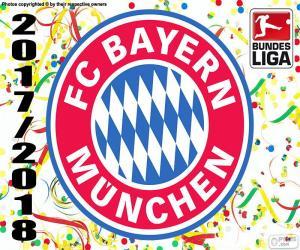 Układanka Bayern Monachium, Bundesliga 2017-2018