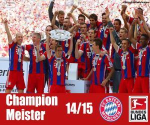 Układanka Bayern Monachium, mistrz 2014-2015