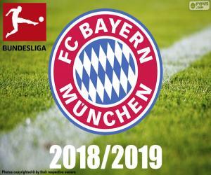 Układanka Bayern Monachium, mistrz 2018-2019