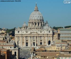 Układanka Bazilika svatého Petra, Vatikán