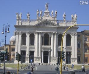 Układanka Bazylika św. Jana na Lateranie, Rome