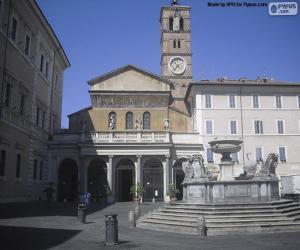 Układanka Bazylika Najświętszej Maryi Panny na Zatybrzu, Rzym