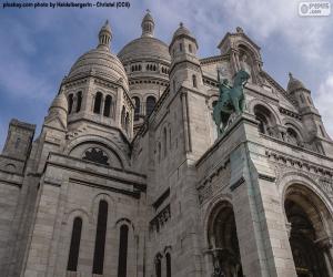 Układanka Bazylika Sacré-Cœur, Paryż