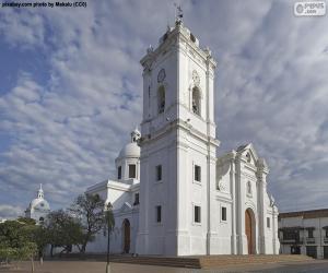 Układanka Bazylika Santa Marta, Colombia