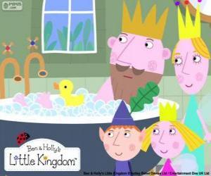Układanka Bena i Holly z królów